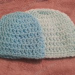 Easy Peasy Baby / Infant Sized (3- 6 Months) Double Crochet Beanie Hat Pattern