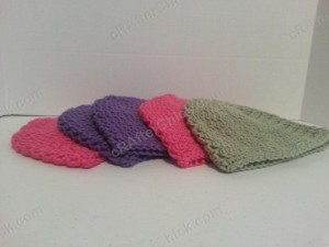 Easy Peasy Youth Sized (Age 3-10) Double Crochet Beanie Pattern
