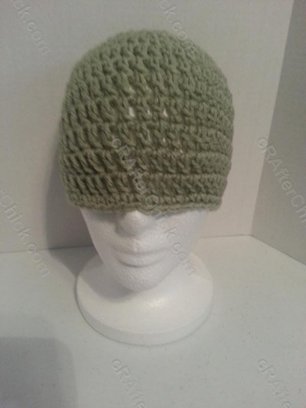Easy Peasy All Family Sizes Free Double Crochet Beanie Patterns