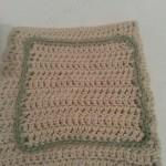 Simple Double Crochet Washcloth Crochet Pattern