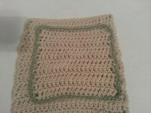 Double Crochet Washcloth Crochet Pattern