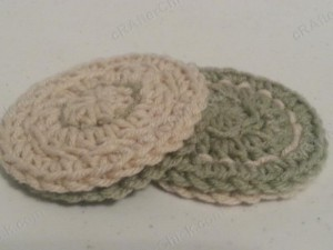 Reversible Coaster Crochet Pattern