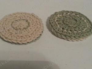 Reversible Coaster Crochet Pattern Side View