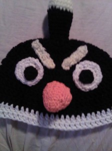 project center at cRAfterChick.com - free angry bird crochet pattern