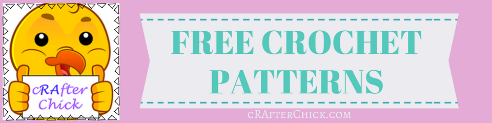 free crochet patterns cRAfterChick blog banner _ a chick crafting through Rheumatoid Arthritis cRAfterChick.com