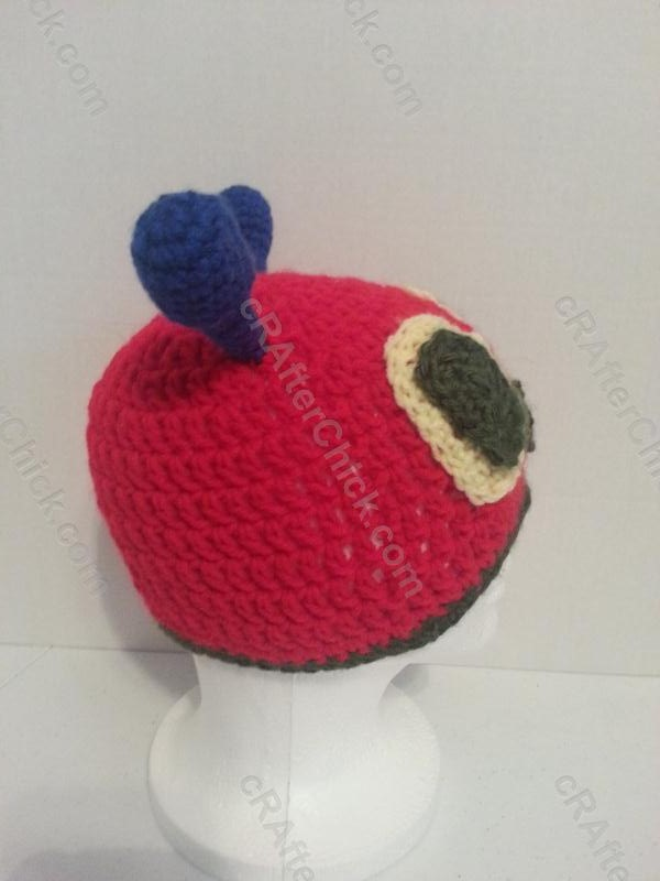 The Very Hungry Caterpillar Beanie Hat Crochet Pattern For Story