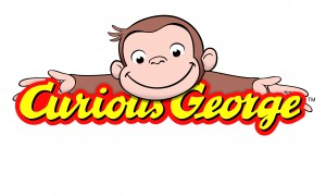 Curious George logo for crochet hat inspiration