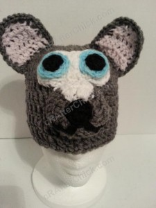 Baby Wolf Crochet Beanie Hat Pattern Profile Picture