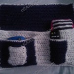 Bedside Hanging Organization Pouch Crochet Project