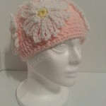 Head Full of Daisies Beanie Hat Crochet Pattern