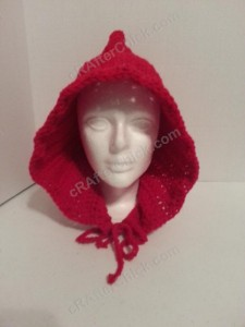 Little Red Riding Hood's Crocheted Hood Crochet pattern zoom out view