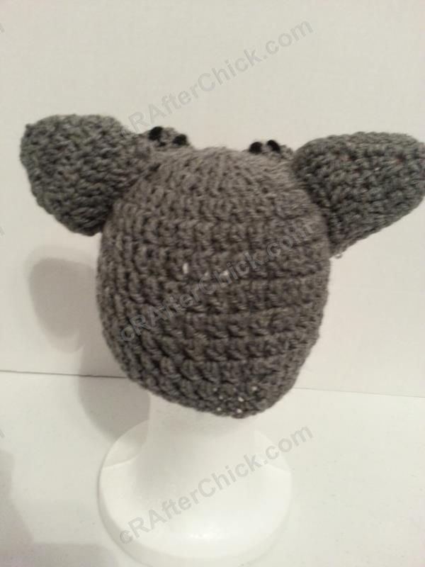 Mother Wolf Beanie Hat Crochet Pattern Crafterchick Free Crochet