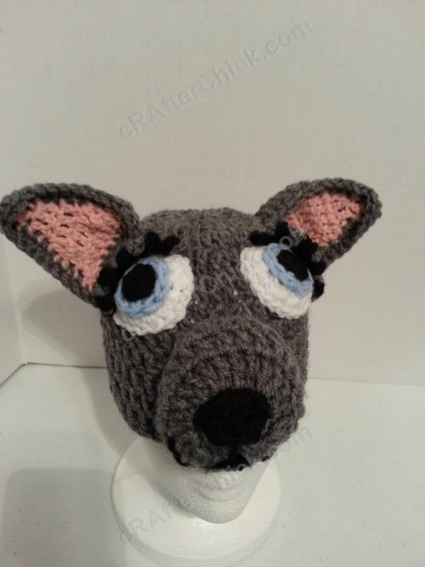 Mother Wolf Beanie Hat Crochet Pattern Crafterchick Free Crochet