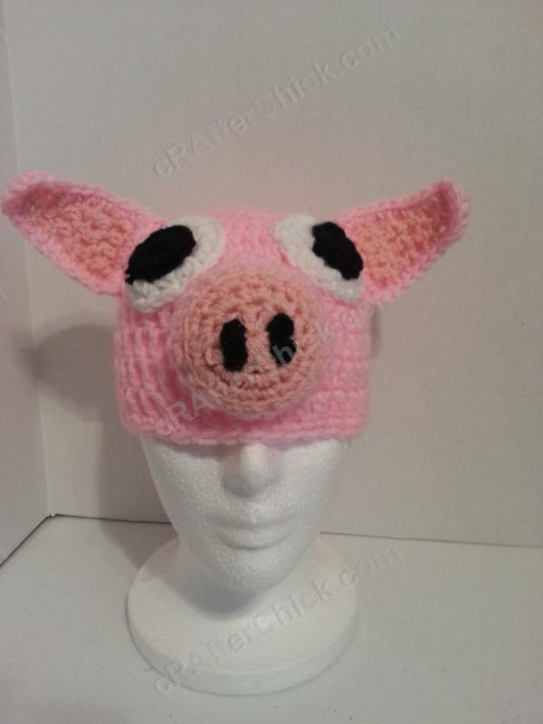 Three Little Pig(gie)s Beanie Hat Set Crochet Pattern » cRAfterchick ...