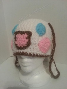 Cinnamoroll Cinnamon the Puppy Character Beanie Hat Crochet Pattern