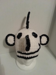 Diary of a Wimpy Kid Greg Beanie Hat Crochet Pattern Front View
