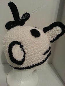Diary of a Wimpy Kid Greg Beanie Hat Crochet Pattern Right Profile View