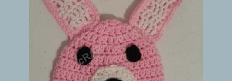Easy Anime Inspired Bunny Beanie Hat Crochet Pattern