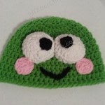 Keroppi the Frog Beanie Hat Crochet Pattern