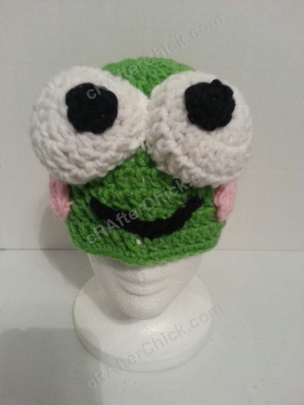 Free Super Mario Amigurumi Patterns : Pics Photos - Keroppi The Frog Beanie Hat Crochet Pattern ...