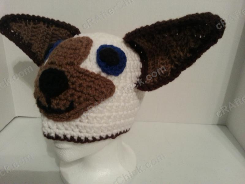 Skippyjon Jones Siamese Cat Book Character Beanie Hat Crochet