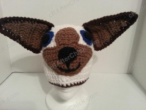 Skippyjon Jones Book Character Beanie Hat Crochet Pattern Front View