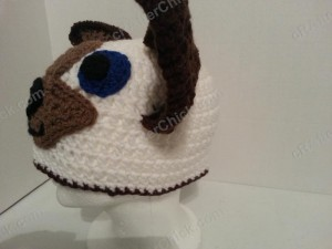Skippyjon Jones Book Character Beanie Hat Crochet Pattern Left Profile View