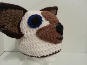 Skippyjon Jones Book Character Beanie Hat Crochet Pattern Right Front View