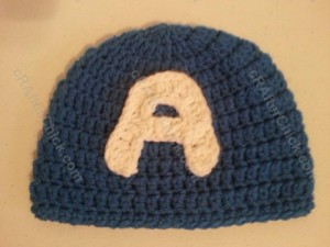 Captain America Superhero Beanie Hat Crochet Pattern Profile Picture