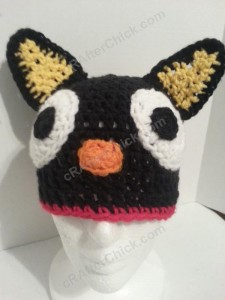 Chococat the Black Cat Character Hat Crochet Pattern Profile Picture