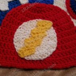 The Flash Superhero Beanie Hat Crochet Pattern
