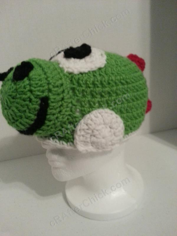Crochet Patterns Yoshi : us dc double crochet us hdc half double crochet us