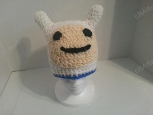 Adventure Time's Finn Character Hat Crochet Pattern (2)