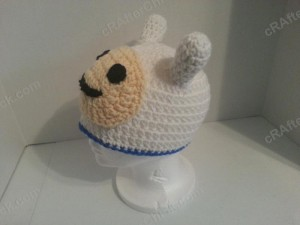 Adventure Time's Finn Character Hat Crochet Pattern (5)