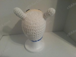 Adventure Time's Finn Character Hat Crochet Pattern (6)
