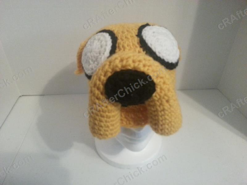 Adventure Times Jake the Dog Character Hat Crochet ...