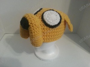 Adventure Time's Jake the Dog Character Hat Crochet Pattern (4)