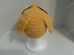 Adventure Time's Jake the Dog Character Hat Crochet Pattern (6)