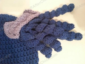 Arthritis Awareness Curly Pigtail Beanie Hat Crochet Pattern (3)
