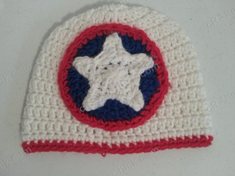 Captain America Superhero Shield Logo Inspired Beanie Hat ...