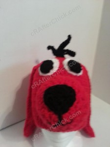 Clifford the Red Dog Children's Book Character Hat Crochet Pattern (10)
