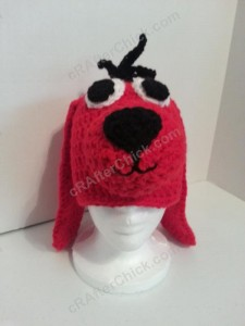 Clifford the Red Dog Children's Book Character Hat Crochet Pattern (11)
