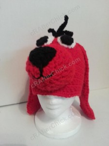 Clifford the Red Dog Children's Book Character Hat Crochet Pattern (14)