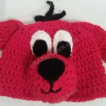 Clifford the Red Dog Children's Book Character Hat Crochet Pattern