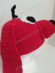 Clifford the Red Dog Children's Book Character Hat Crochet Pattern (6)