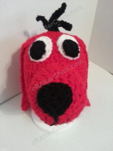 Clifford the Red Dog Children's Book Character Hat Crochet Pattern (8)