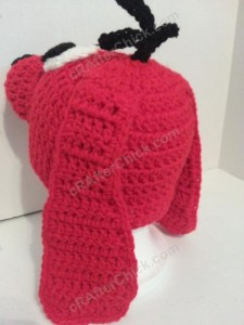 Clifford the Red Dog Children's Book Character Hat Crochet Pattern (9)