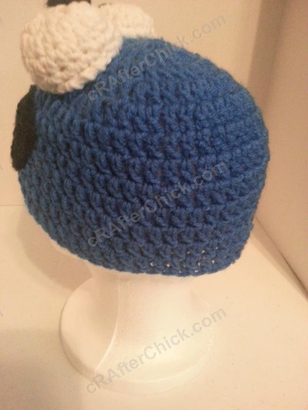 Cookie Monster Character Hat Crochet Pattern ...