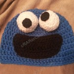 Cookie Monster Character Hat Crochet Pattern