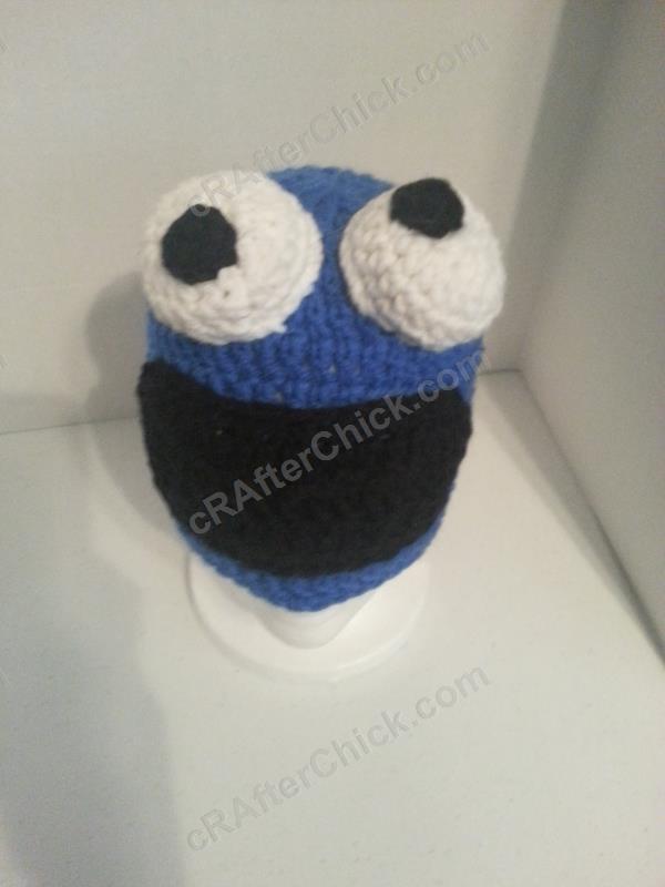 1ce384e87387d Cookie Monster Character Hat Crochet Pattern » cRAfterchick - Free ...